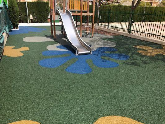 Las superficies más seguras para parques infantiles y zonas deportivas.