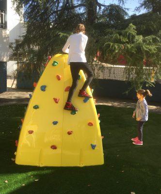 Beneficios de los rocódromos infantiles.