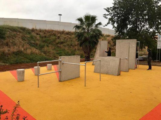 Urbe Adapta y sus nuevas instalaciones de parkour en Picassent