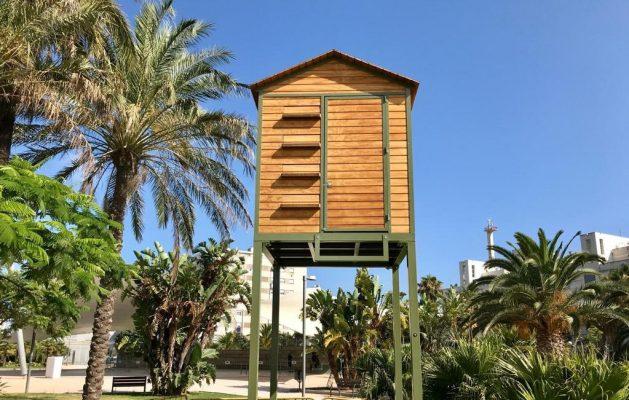 Palomares Urbe Adapta instalados en Cádiz.