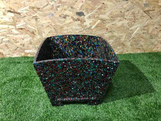 Jardineras recicladas Circular Urbe